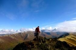 Top of Rendezvous Peak