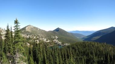 Long Mountain lake with Parker Peak