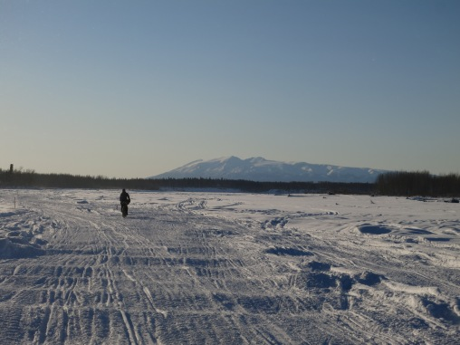 Riding on the Susitna